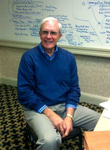 Elder at the 2012 American Sociological Association Annual Meeting.