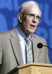 Elder receiving the W.E.B. DuBois Career of Distinguished Scholarship Award